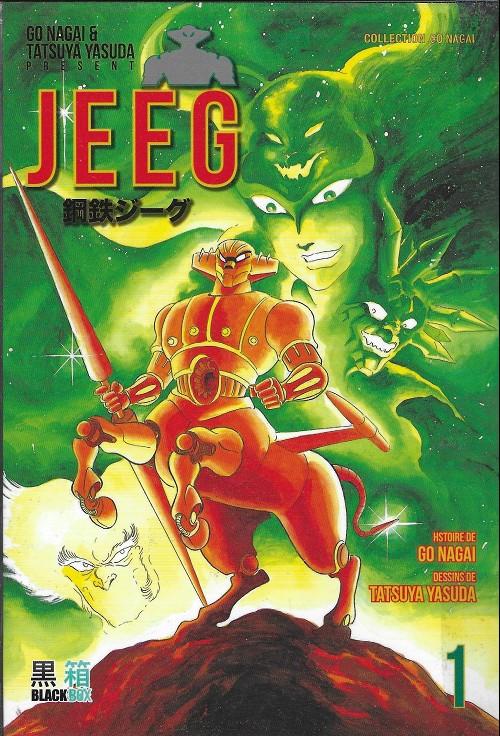 Couverture de Jeeg -1- Tome 1