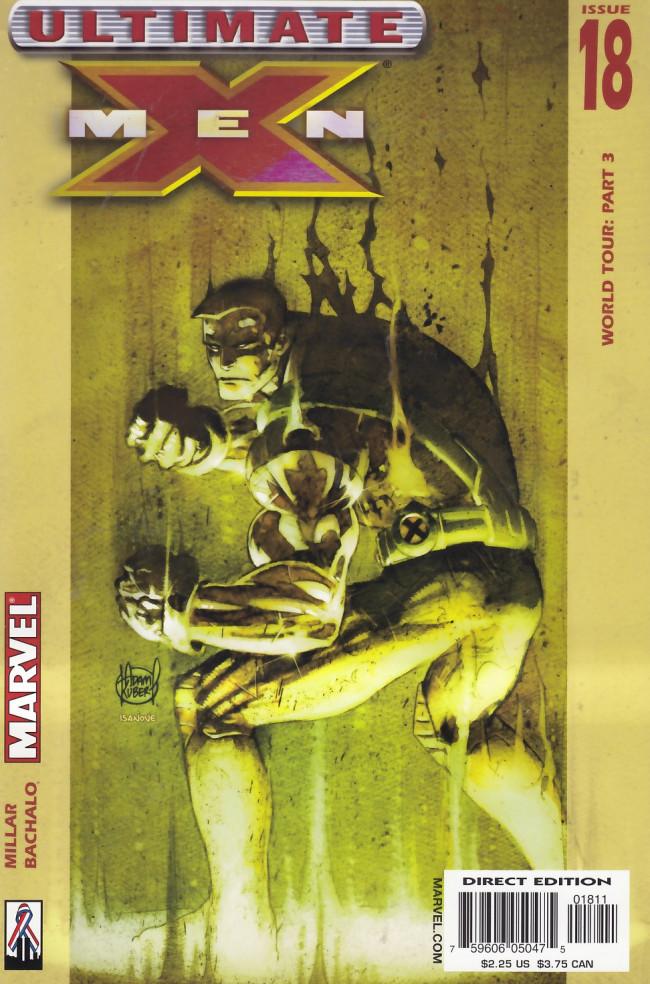Couverture de Ultimate X-Men (2001) -18- World Tour Part 3