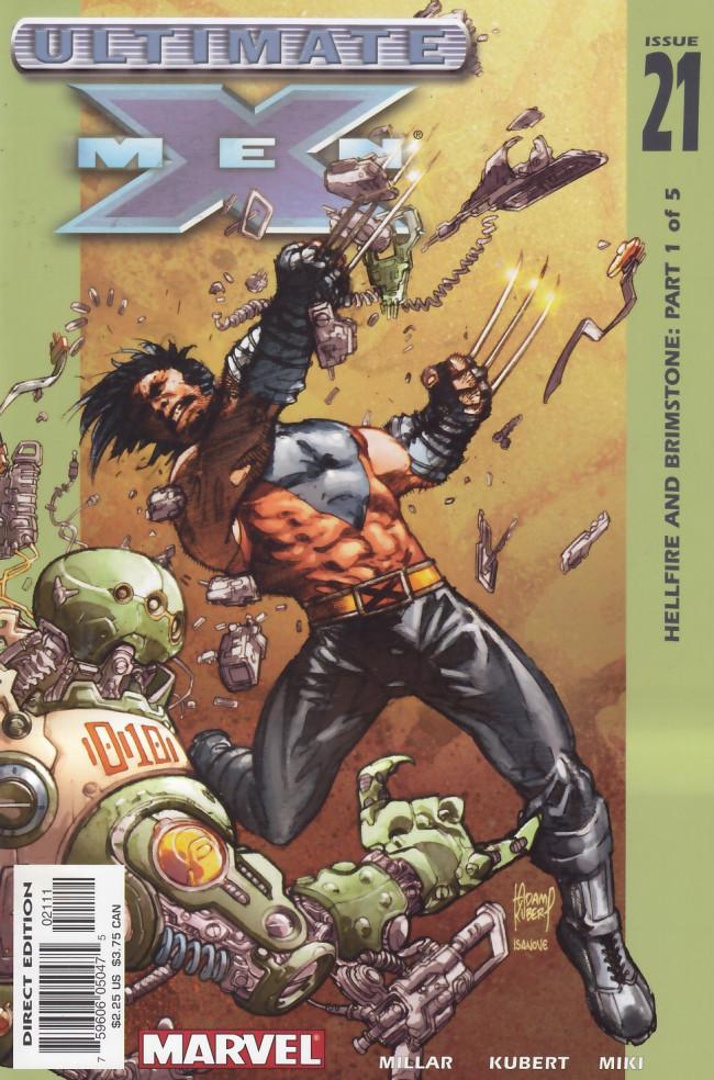 Couverture de Ultimate X-Men (2001) -21- Hellfire and Brimstone Part 1