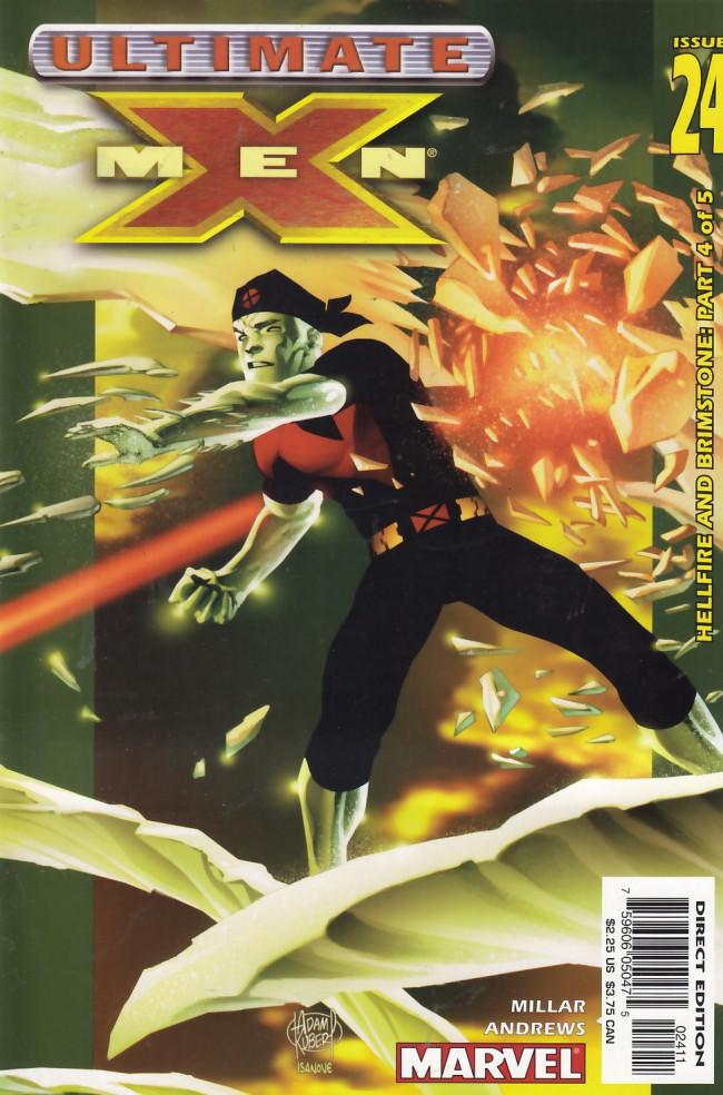 Couverture de Ultimate X-Men (2001) -24- Hellfire and Brimstone: Part 4 of 5