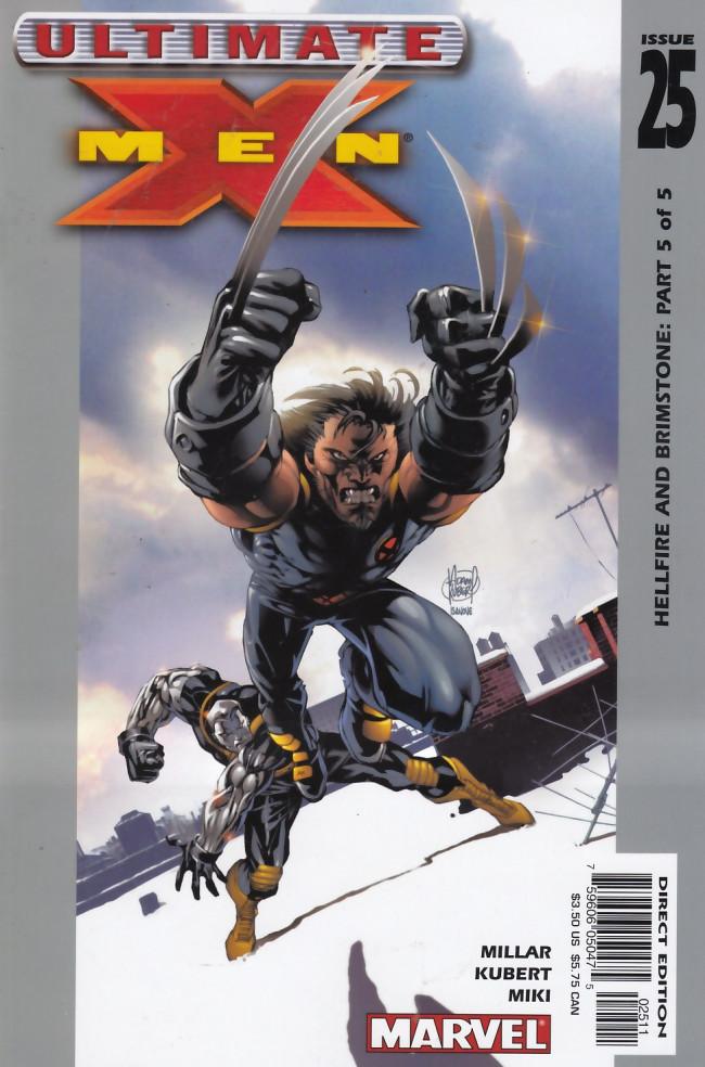 Couverture de Ultimate X-Men (2001) -25- Hellfire and Brimstone: Part 5 of 5