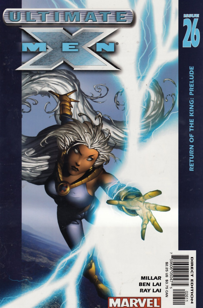 Couverture de Ultimate X-Men (2001) -26- Return of the King: Prelude