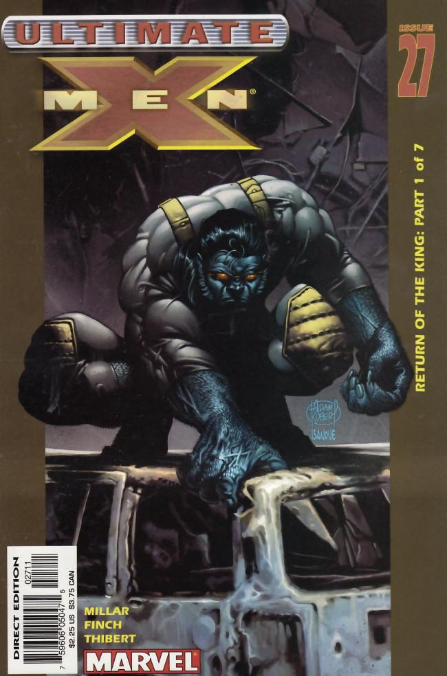 Couverture de Ultimate X-Men (2001) -27- Magneto Triumphant