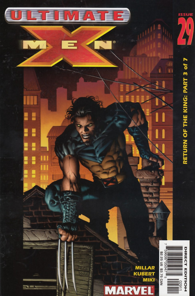 Couverture de Ultimate X-Men (2001) -29- Return of the King Part 3