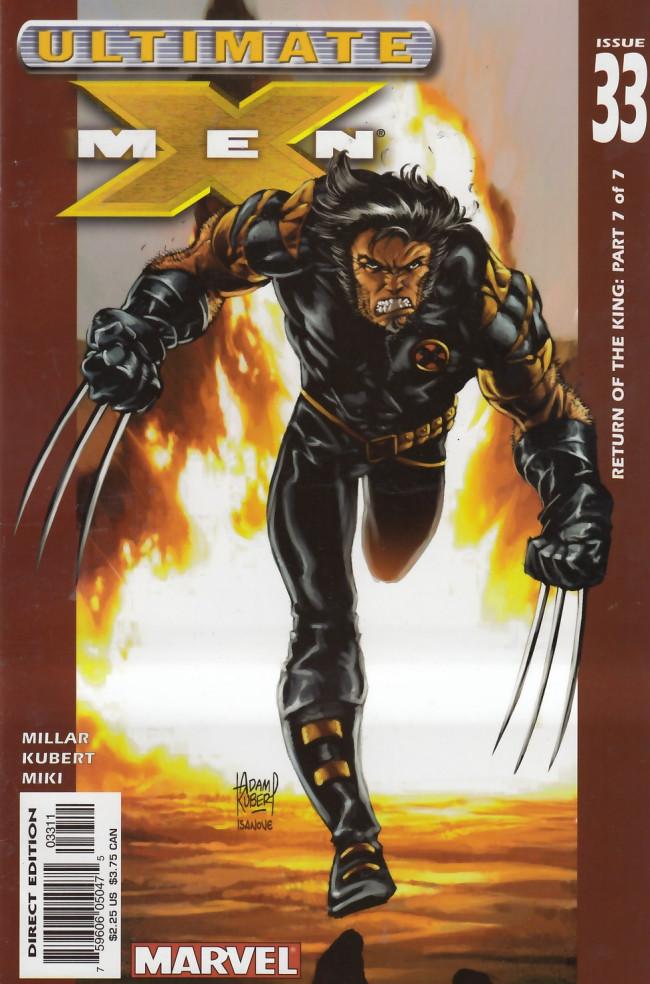Couverture de Ultimate X-Men (2001) -33- Return of the King Part 7