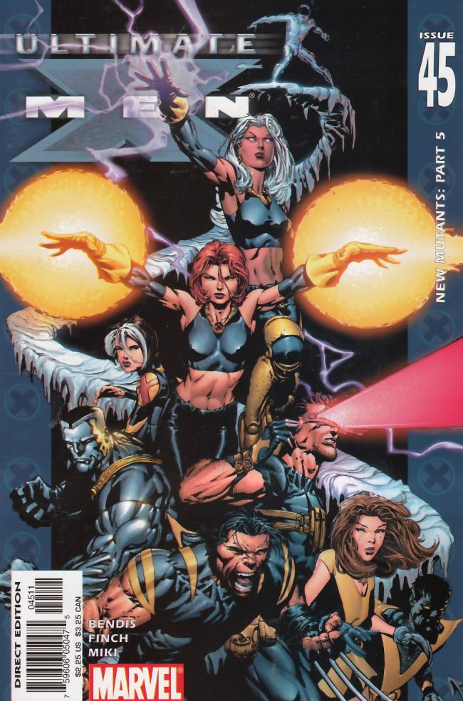 Couverture de Ultimate X-Men (2001) -45- New Mutants Part Six