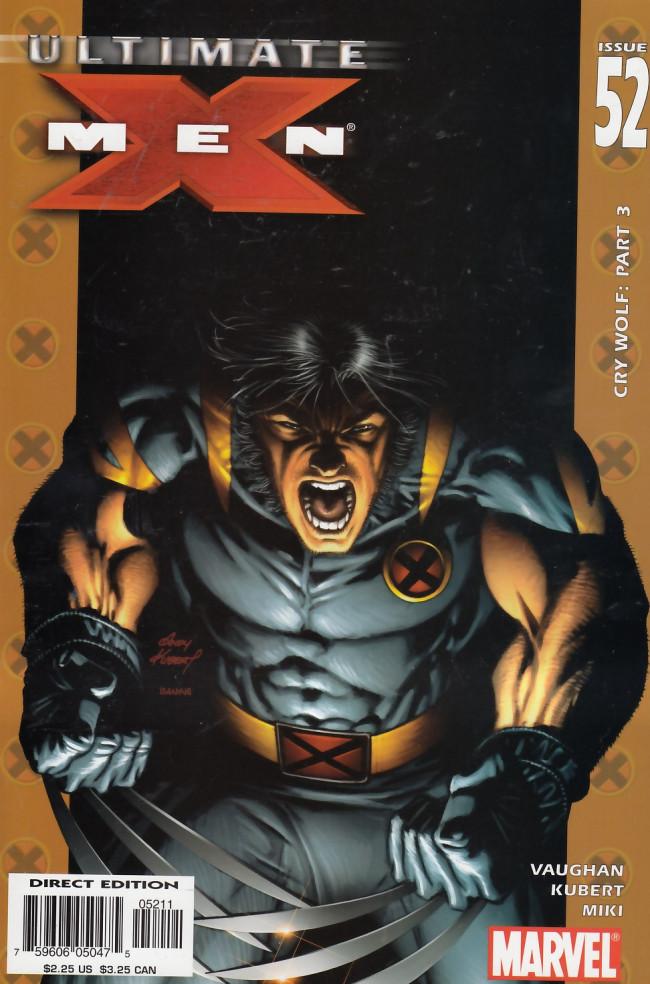 Couverture de Ultimate X-Men (2001) -52- Cry Wolf Part Three