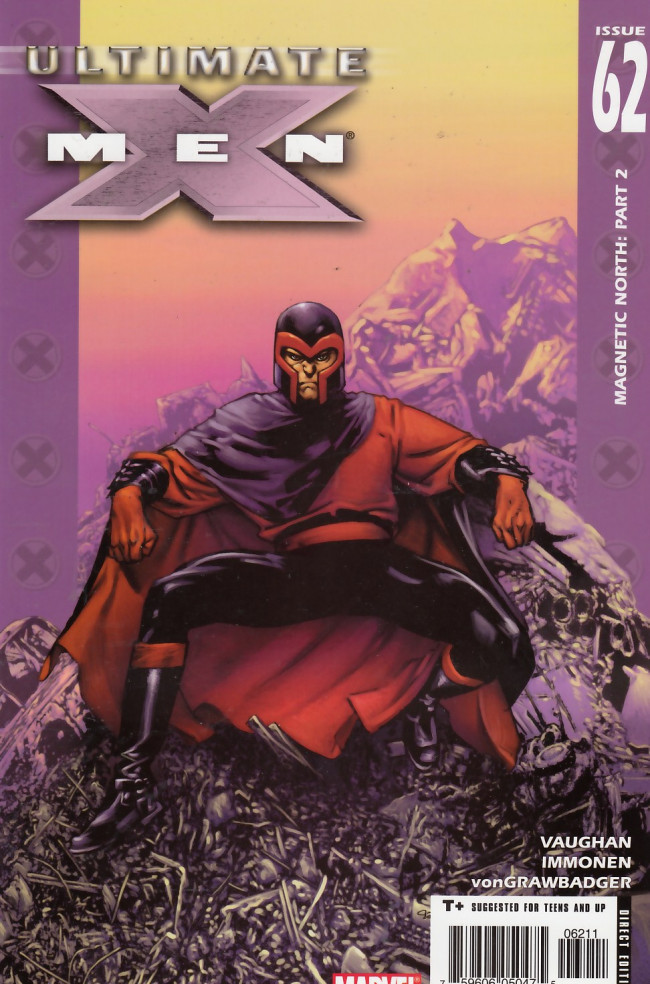 Couverture de Ultimate X-Men (2001) -62- Magnetic North, Chapter Two