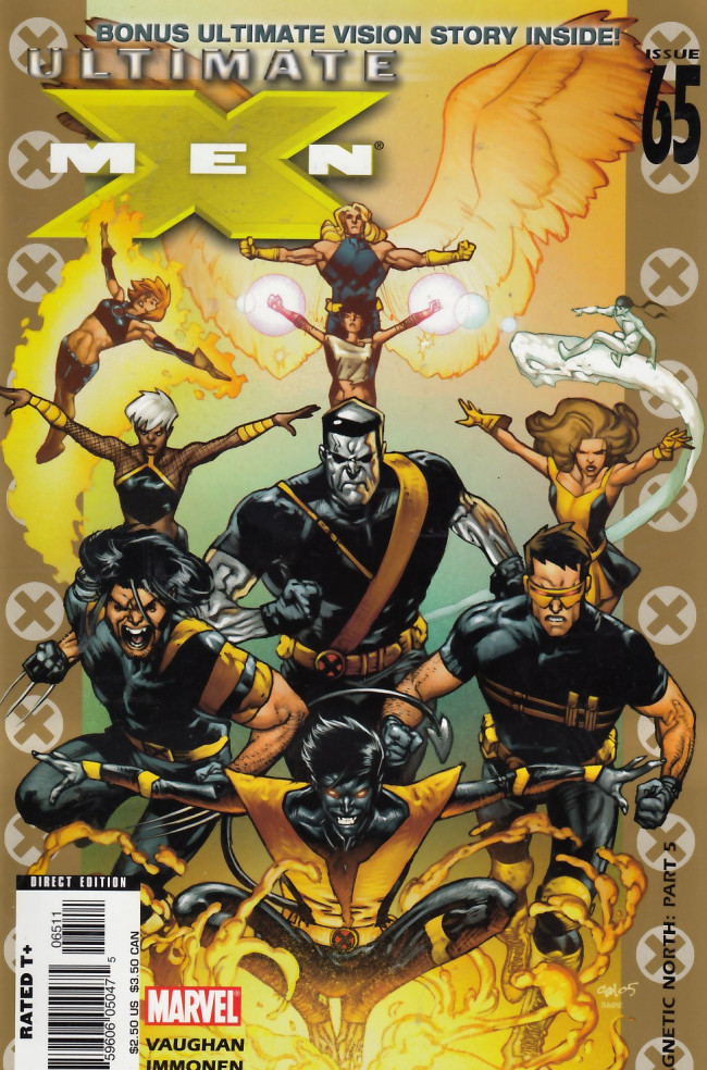 Couverture de Ultimate X-Men (2001) -65- Magnetic North The End