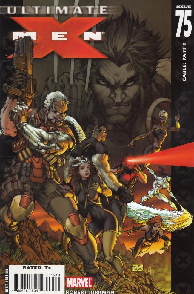 Couverture de Ultimate X-Men (2001) -75- Cable: Part 1