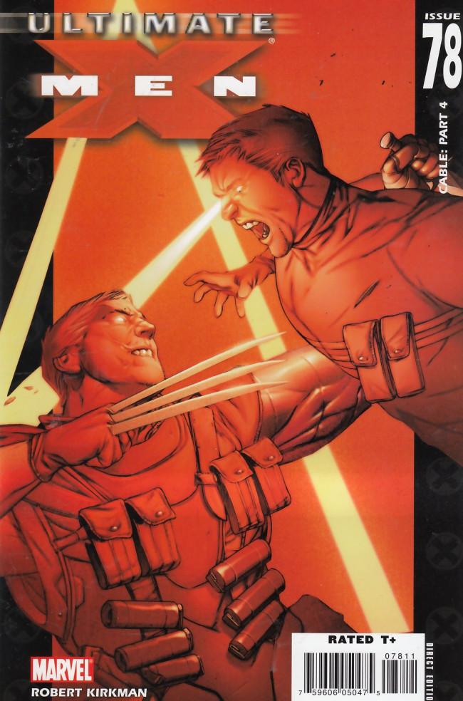 Couverture de Ultimate X-Men (2001) -78- Cable: Conclusion