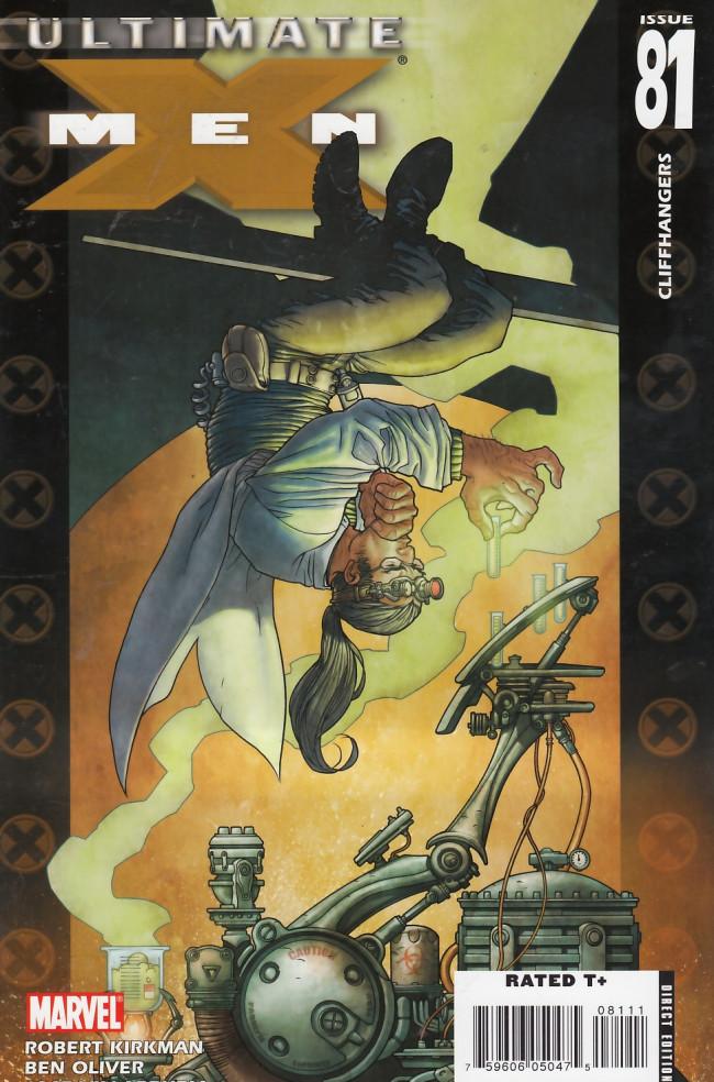 Couverture de Ultimate X-Men (2001) -81- Cliffhangers