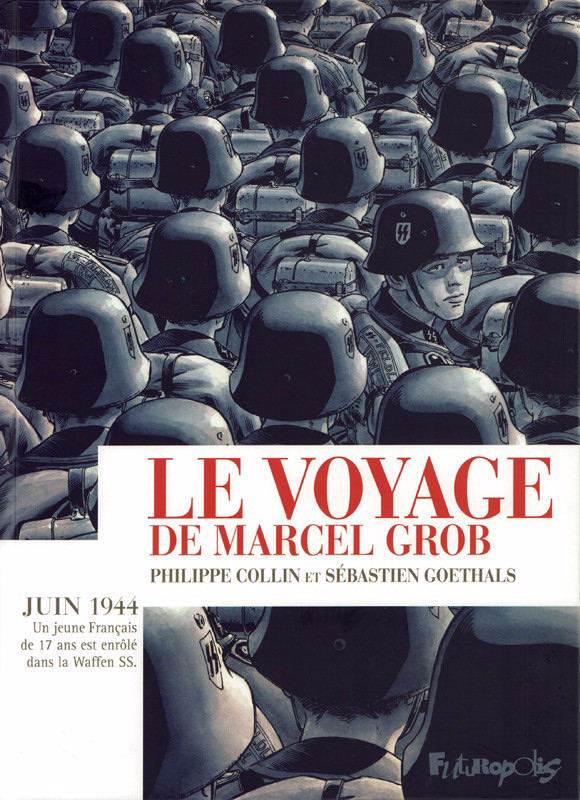 Couverture de Le voyage de Marcel Grob - Le Voyage de Marcel Grob
