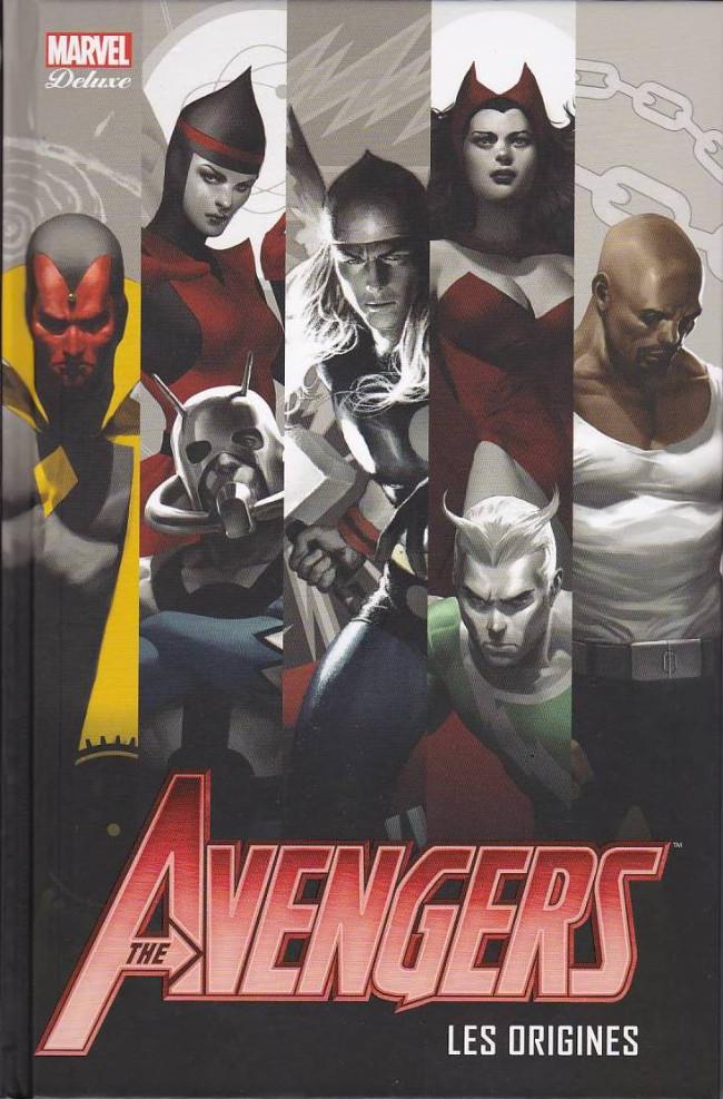 Couverture de Avengers (Marvel Deluxe) - Les Origines