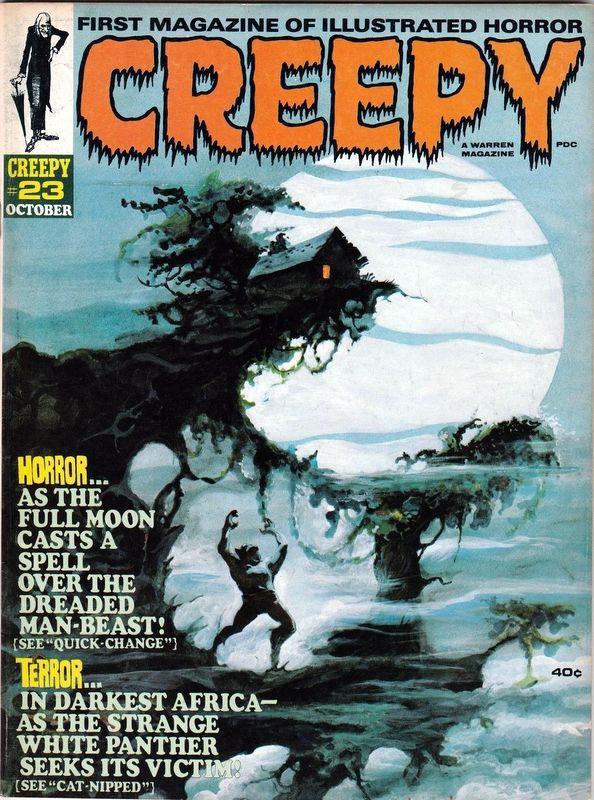 Couverture de Creepy (1964) -23- (sans titre)