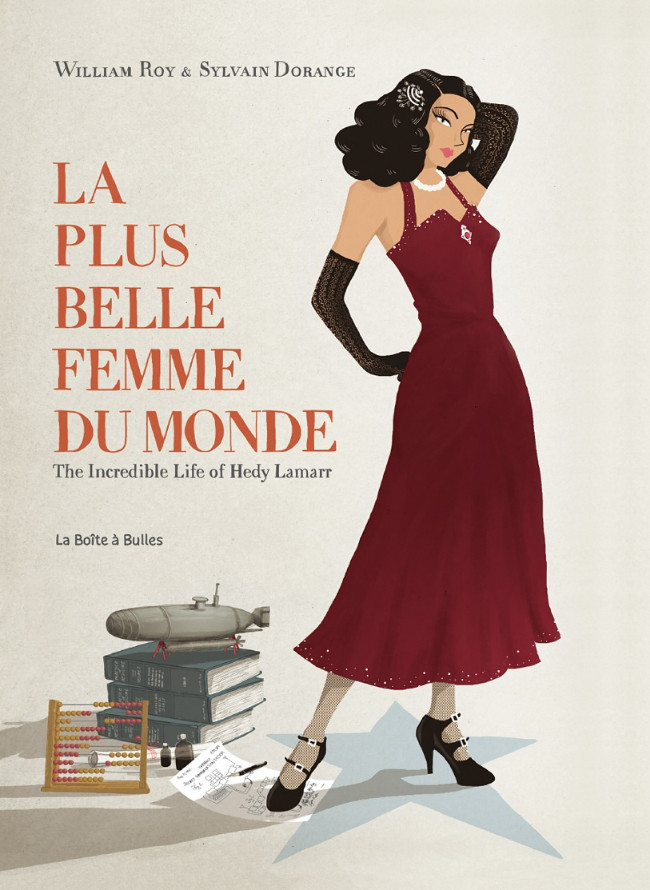 Ectasy & me, la folle autobiographie d'Hedy Lamarr Couv_345261