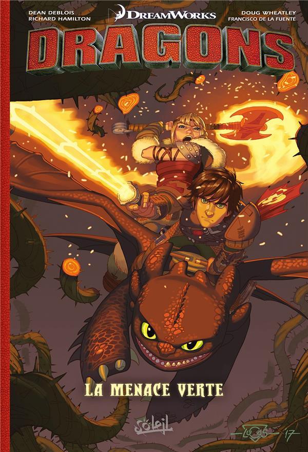 Couverture de Dragons (DreamWorks) - La Menace verte