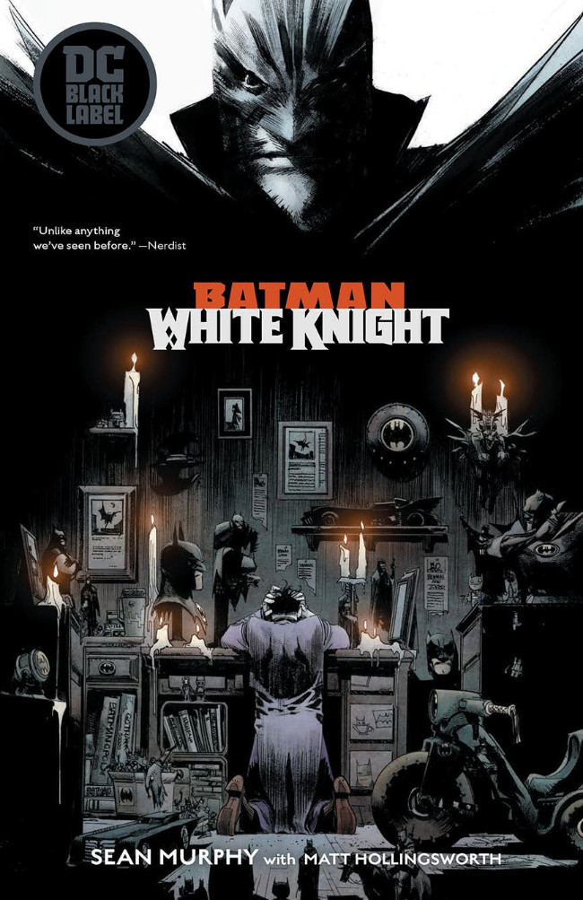 Couverture de Batman: White Knight (2017) -INT01- Batman: White Knight