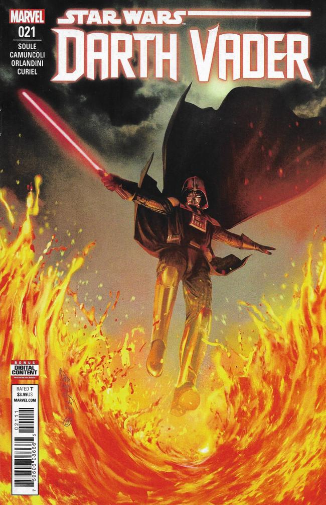 Couverture de Darth Vader (2017) -21- Fortress Vader Part III