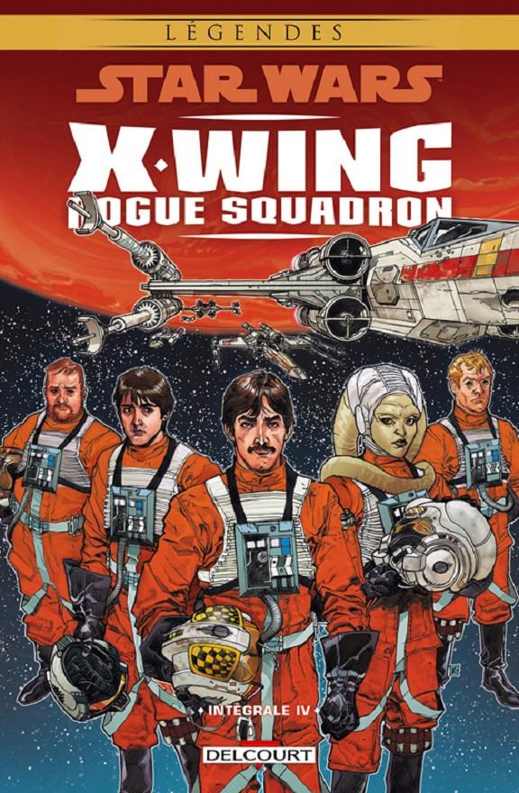 Couverture de Star Wars - X-Wing Rogue Squadron (Delcourt) -INT04- Intégrale IV