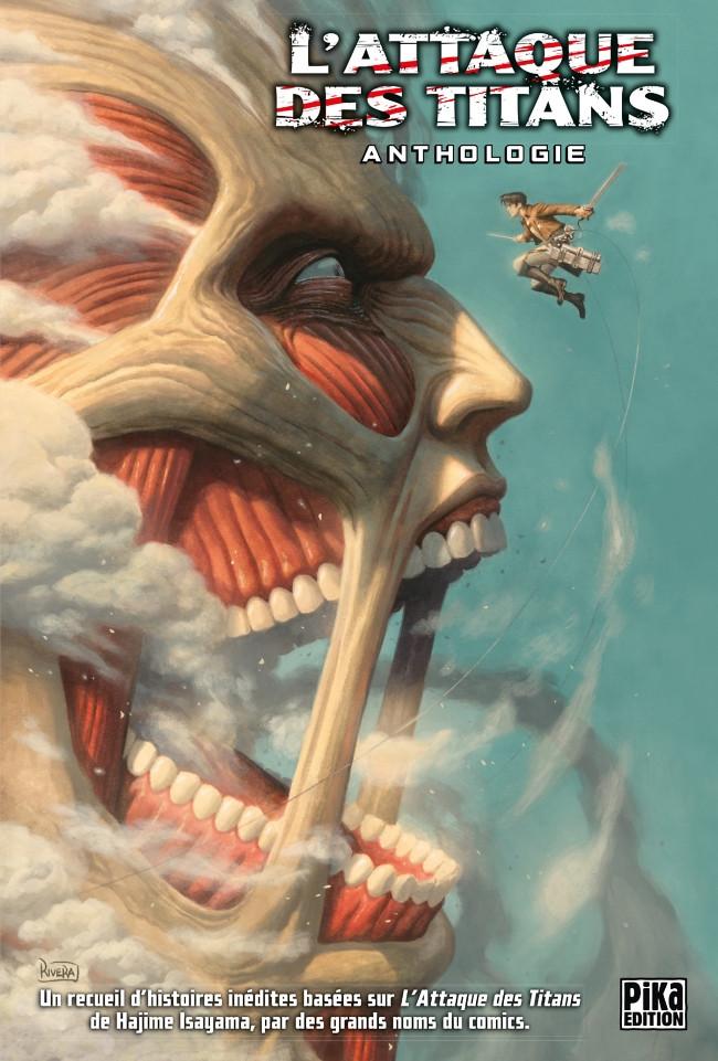 Couverture de L'attaque des Titans -HS- Anthologie