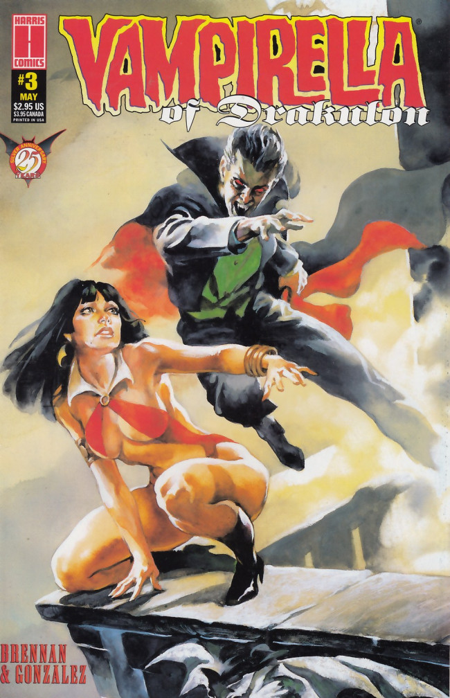 Couverture de Vampirella of Drakulon (1996) -3- Vampirella of Drakulon #3