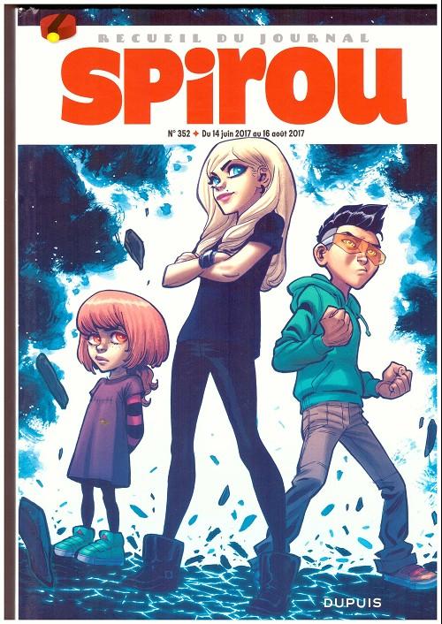 Couverture de (Recueil) Spirou (Album du journal) -352- Spirou album du journal