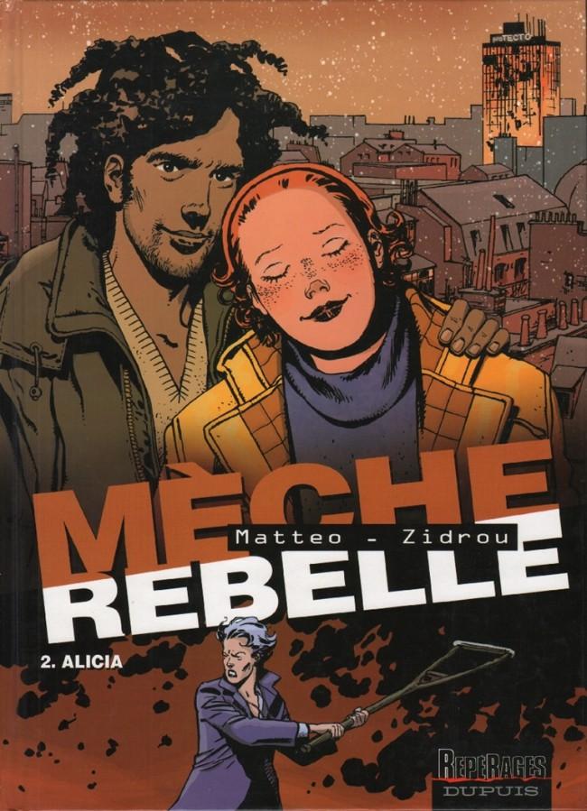 Couverture de Mèche rebelle -2- Alicia