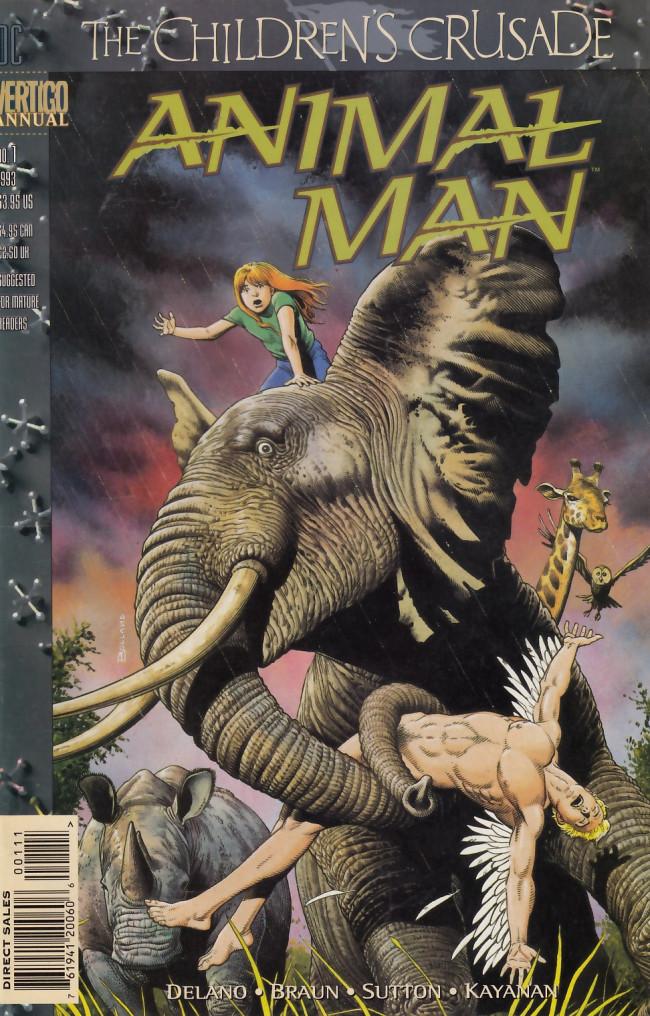 Couverture de Animal Man Vol.1 (DC comics - 1988) -AN01- Misfit
