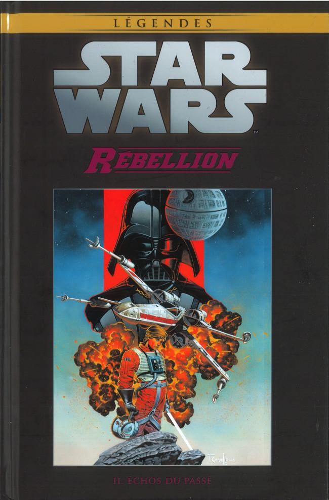 Couverture de Star Wars - Légendes - La Collection (Hachette) -7548- Rébellion - II. Echos du Passé