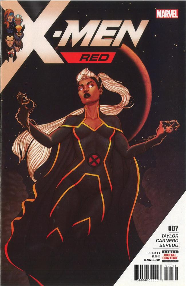 Couverture de X-Men: Red (2018) -7- Part 7: Atlantis Smashed
