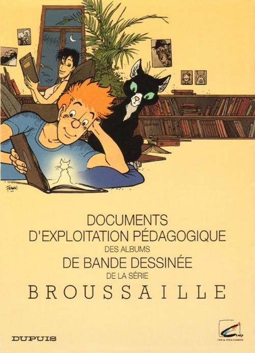 Couverture de Broussaille -HS1- Documents d'Exploitation Pédagogique