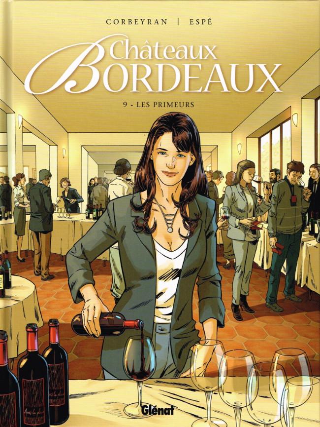Couverture de Châteaux Bordeaux -9- Les Primeurs