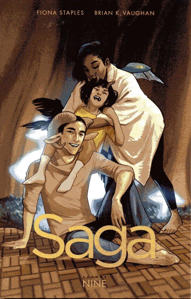 Couverture de Saga (Image comics - 2012) -INT09- Saga - Volume Nine
