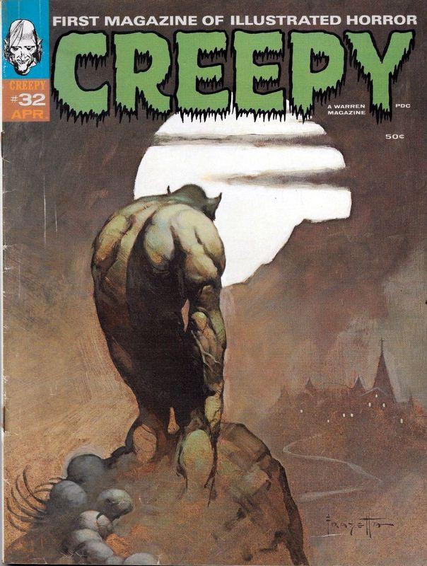 Couverture de Creepy (1964) -32- (sans titre)