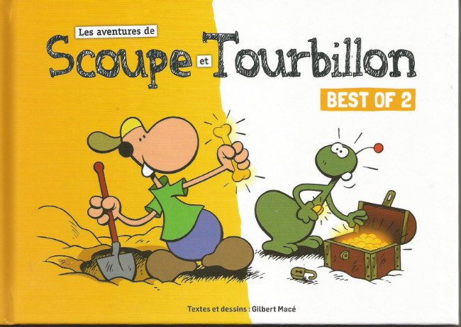 Couverture de Scoupe et Tourbillon (Les aventures de) -2- Best of 2