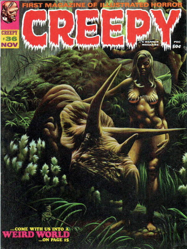 Couverture de Creepy (1964) -36- Weird World