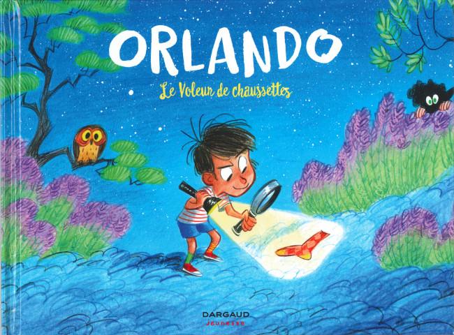 Couverture de Orlando (Radice/Turconi) -2- Le voleur de chaussettes
