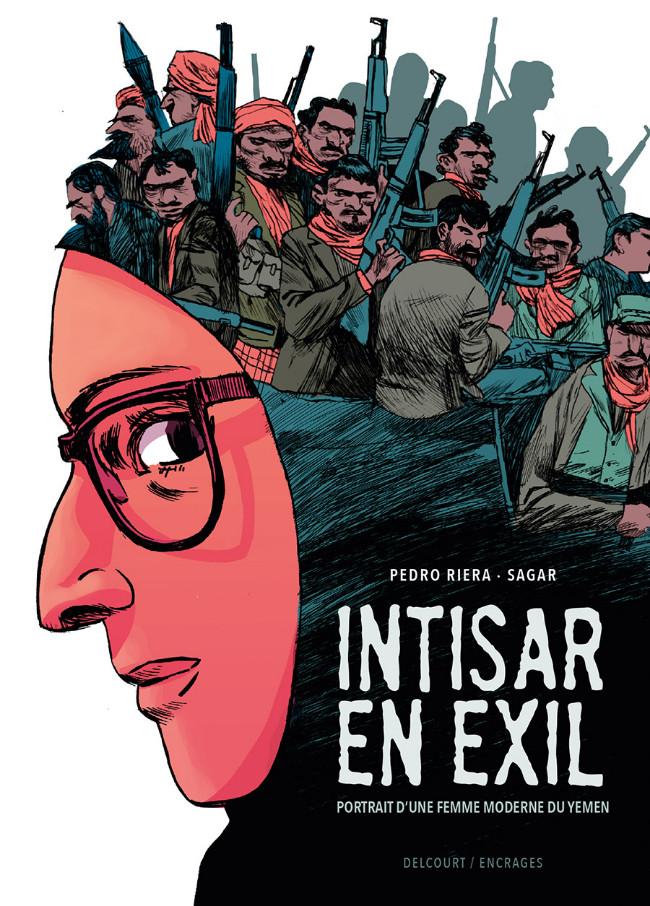 Couverture de Intisar, portrait d'une femme moderne du Yémen -2- Intisar en exil