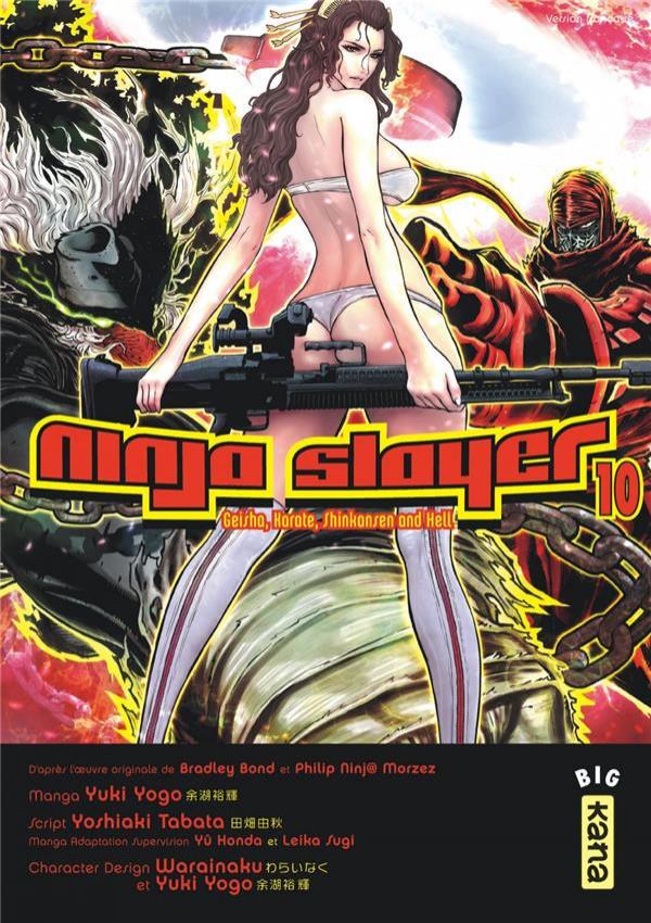 Couverture de Ninja slayer  -10- Tome 10
