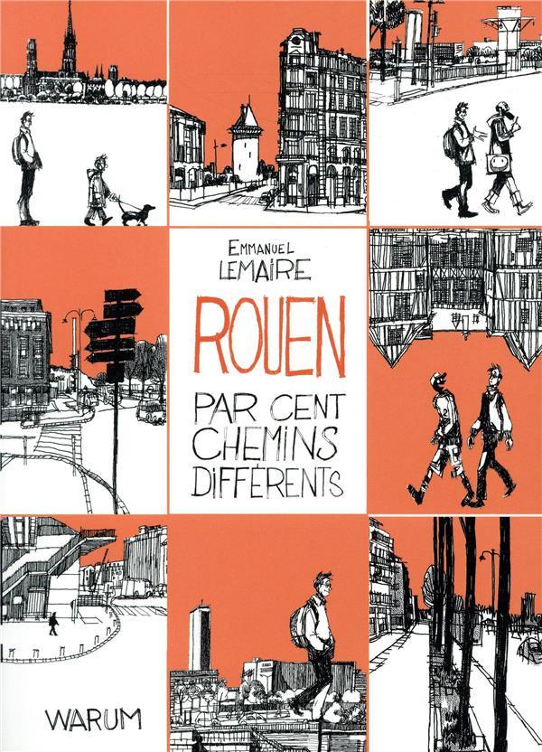 Couverture de Rouen par cent chemins différents