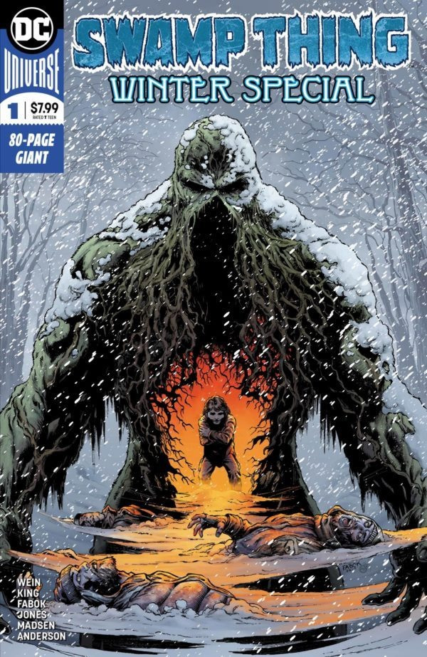 Couverture de Swamp Thing (2018) -1- Winter Special