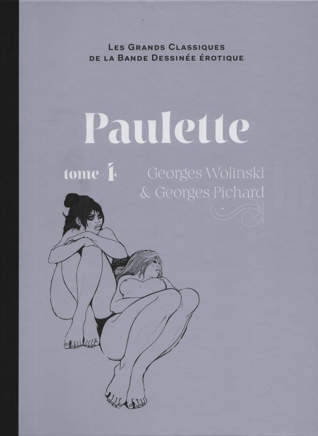 Couverture de Les grands Classiques de la Bande Dessinée érotique - La Collection -6560- Paulette - Tome 4