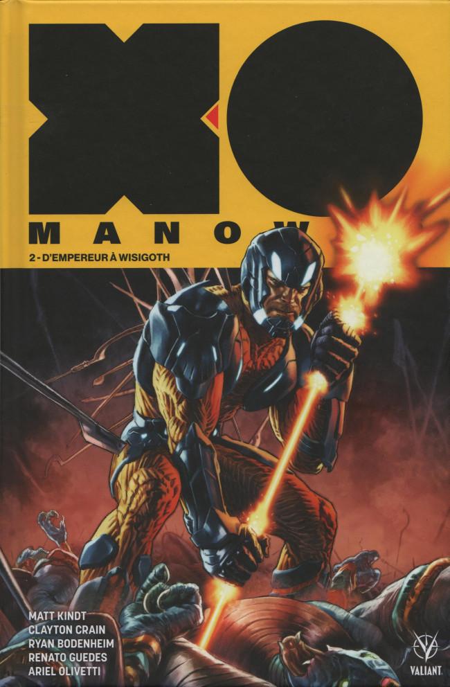 Couverture de X-O Manowar (2018) -2- D'empereur à wisigoth