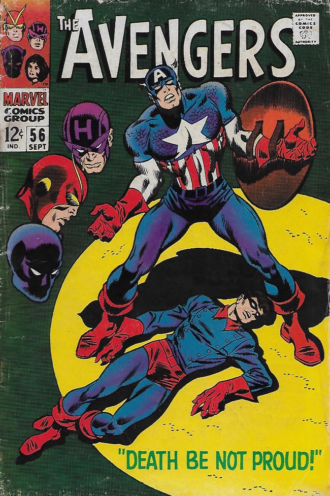Couverture de Avengers (The) (1963) -56- Death Be Not Proud