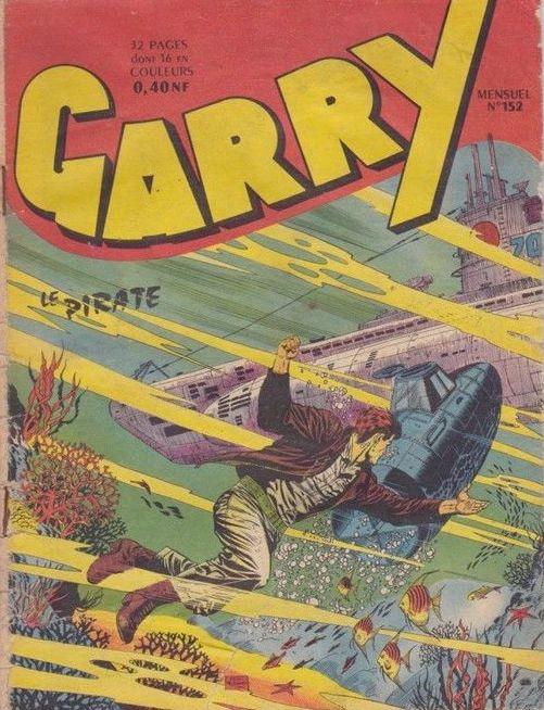 Couverture de Garry (sergent) (Imperia) (1re série grand format - 1 à 189) -152- Le pirate
