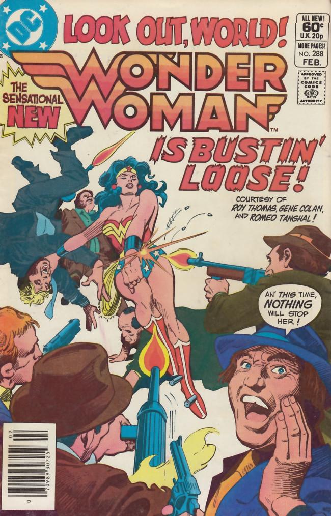 Couverture de Wonder Woman Vol.1 (DC Comics - 1942) -288- Swan Song!