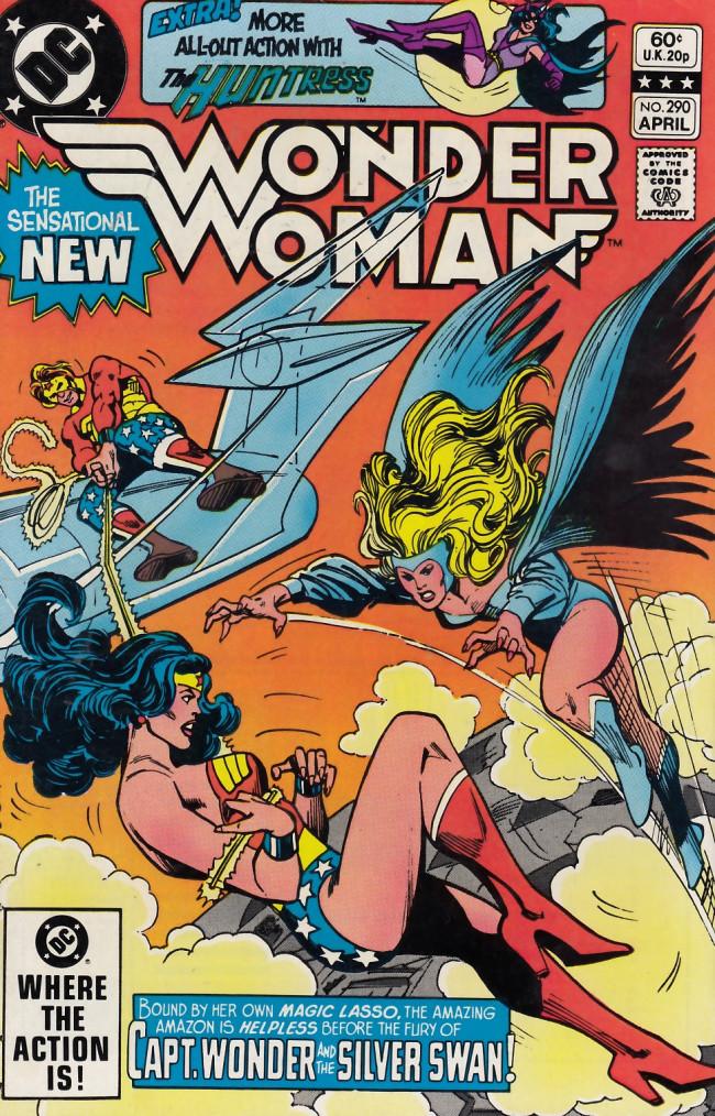 Couverture de Wonder Woman Vol.1 (DC Comics - 1942) -290- Panic Over Pennsylvania Avenue!