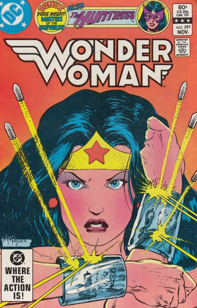 Couverture de Wonder Woman Vol.1 (DC Comics - 1942) -297- Thunder on the Wind