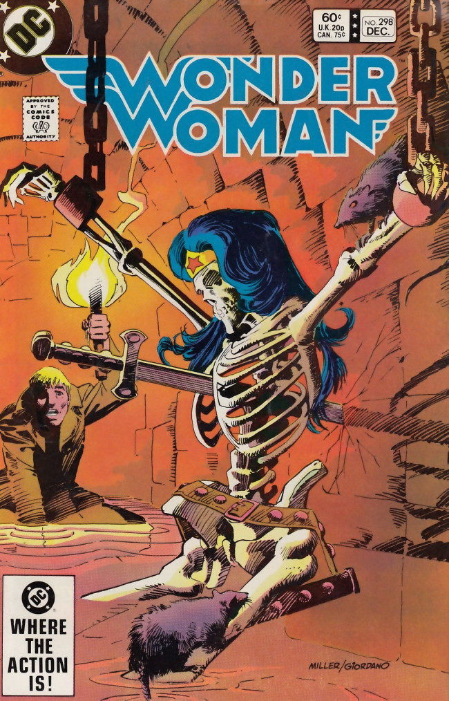 Couverture de Wonder Woman Vol.1 (DC Comics - 1942) -298- Catacombs